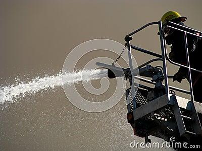 Agua que pinta (con vaporizador) del bombero