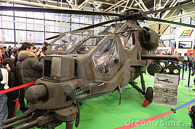 Agusta A129CBT (ComBaT) Editorial Stock Image