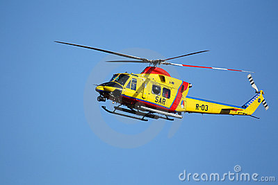 Agusta AB-412 SP Helicopter Editorial Stock Photo