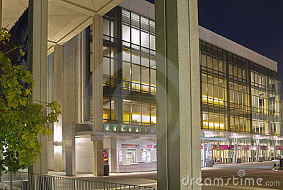 Ahmanson Theater in Music Center in Los Angeles Editorial Stock Photo