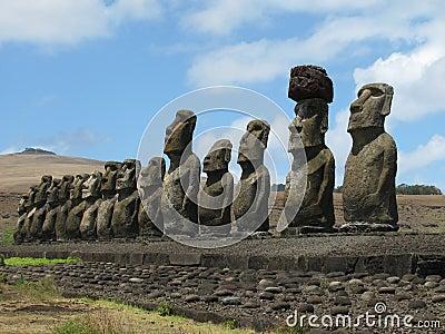 Ahu Tongaraki Easter Island