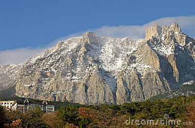 Ai-Petry Mountain. Crimea