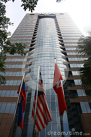 AIA Life Insurance Corporate Office Malaysia Editorial Image