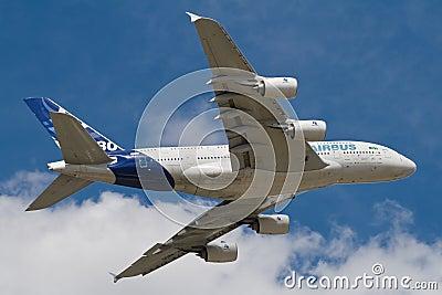 Aibus A380 Editorial Photo
