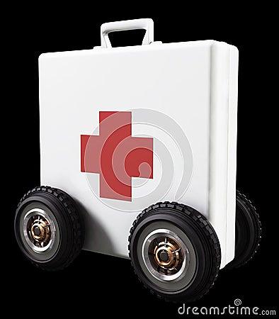 Aid on Wheels Editorial Photo