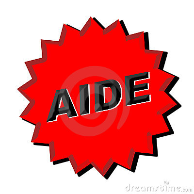 Aide Sign