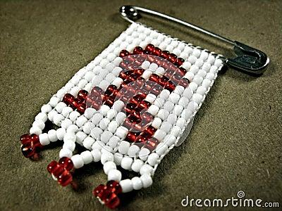 AIDS badge 2