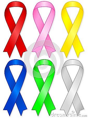 Aids ribbon set