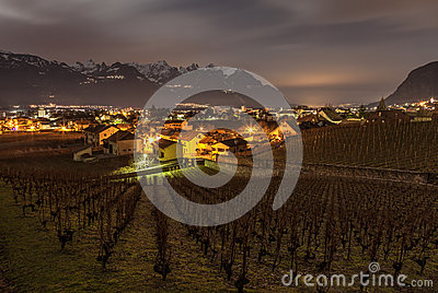 Aigle Vineyard, Switzerland