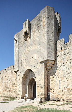 Aigues-Mortes medieval gate