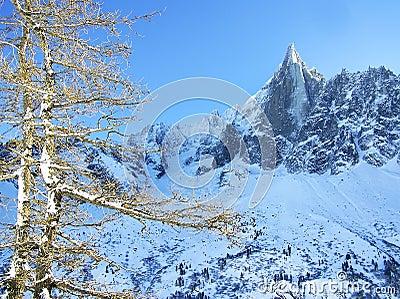 The Aiguille du Dru