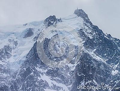 Aiguille du Midi Summit