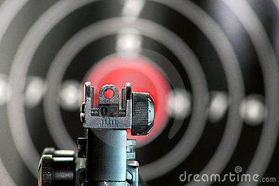 Aim to the target