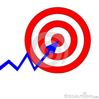 Aiming target