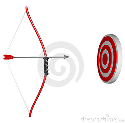 Aiming at Your Target - Bow and Arrow