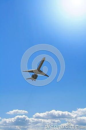 Free Aiplane At Takeoff Stock Image - 6713911