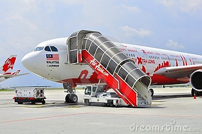 Air Asia 330 Editorial Stock Photo
