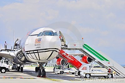 Air Asia 330 Editorial Stock Image