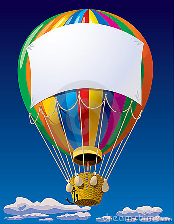 Free Air Balloon In The Sky Stock Photos - 10999223