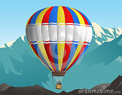 Air balloon trip