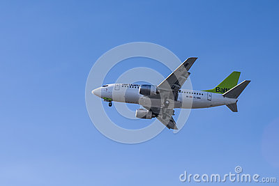 Air baltic Editorial Image