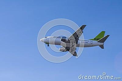 Air baltic Editorial Image