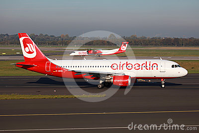 Air Berlin Airbus A320 Editorial Image