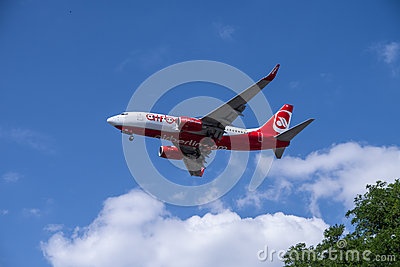 Air berlin Editorial Stock Image