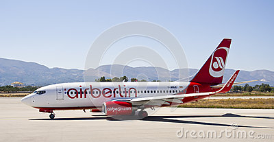 Air Berlin, Boeing 737 - 800 Editorial Image