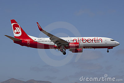 Air Berlin Boeing B737-800 Editorial Image