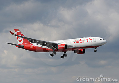 Air Berlin passenger jet Editorial Image