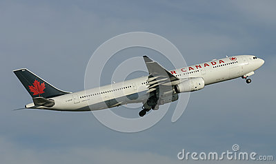 Air Canada Airbus A330 Editorial Photography