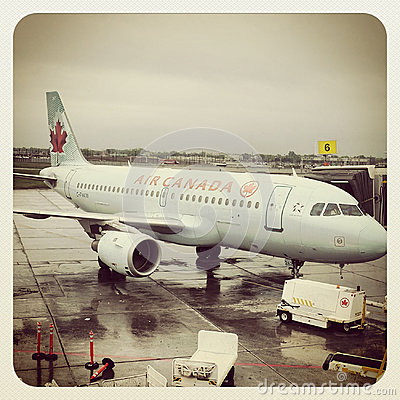 Air Canada plane Editorial Photo
