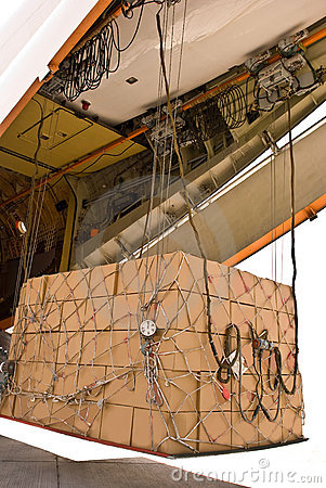 Free Air Cargo Royalty Free Stock Image - 14042766