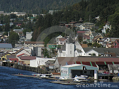 Air Charters and Tours, Ketchikan, Alaska Editorial Image
