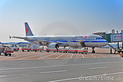 Air china Editorial Stock Image