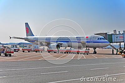 Air china Editorial Stock Image