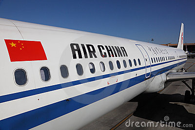 Air China Aircraft Editorial Image