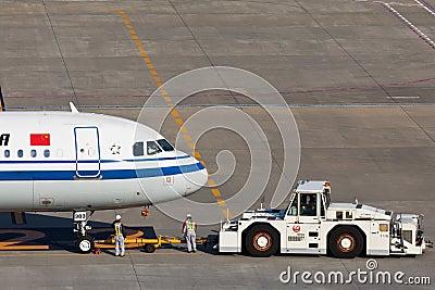 Air china B-6383 Editorial Photo