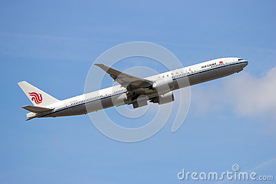 Air China Boeing 777 Editorial Stock Photo