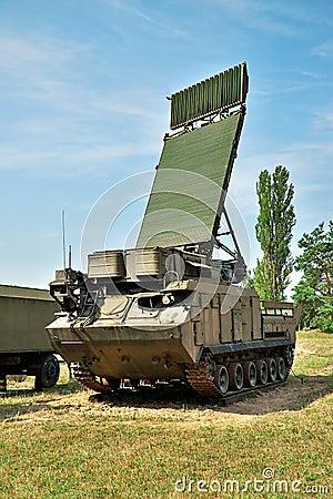 Free Air Defense Radar Royalty Free Stock Image - 48848286