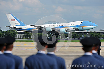 Air Force One Editorial Photography
