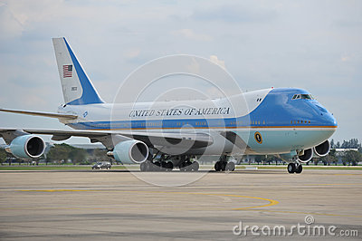 Air Force One Editorial Stock Photo