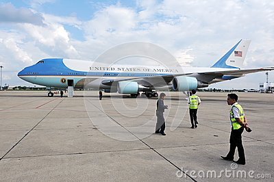 Air Force One Editorial Stock Image