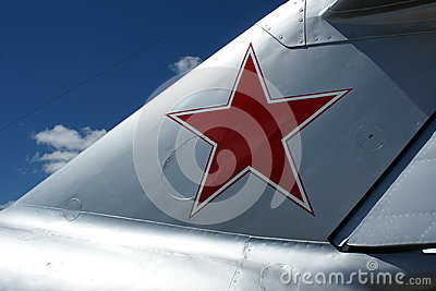 Air force red star