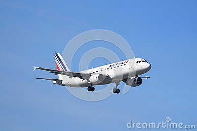 Air France Airbus A320 Editorial Photography