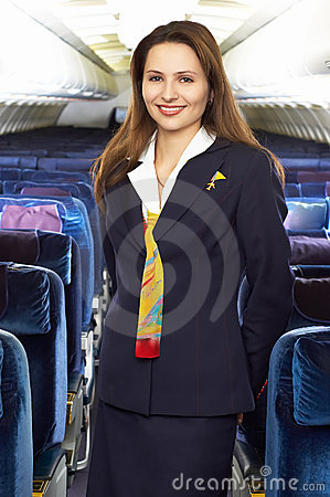 Free Air Hostess Stock Photography - 1941332