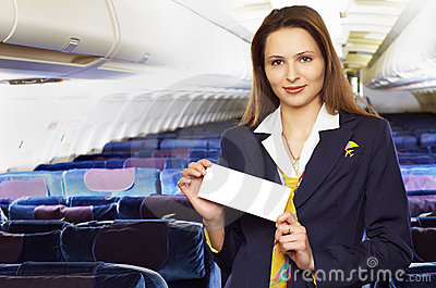 Air hostess (stewardess)