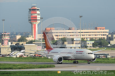 Air India First Boeing 787 Dreamliner Editorial Image