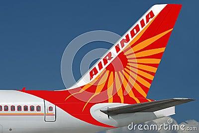 Air India plane. Editorial Image